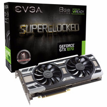 Placa De Vídeo Evga Gtx1070 8gb Sc Gaming 08g-p4-6173-kr