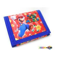 Carteira Infantil Super Mario