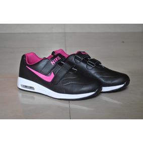 Kp3 Zapatos Nike Air Cierre Magico Para Niñas Del 25 Al 35
