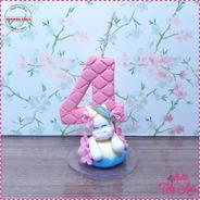 Velas Decoradas Personalizado Biscuit Unicornio