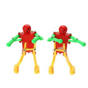 Brinquedo À Corda Robô Que Dança - 2 Pçs
