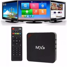 Tv Box 4k Android 6.0+ Mx9 Ultra Hd