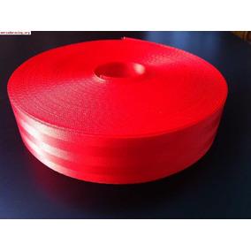 15 Mts De Cinta De Cinturon De Seguridad Roja