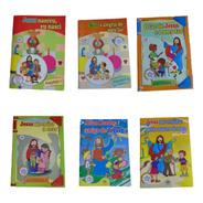 Coleção Aprendendo Com Jesus Para Crianças De 0 A 5 Anos