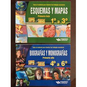 Monografias Y Biografias 1 A 3 - Mapas Y Esquemas