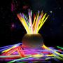 Barras De Neon Neon Fiesta Manillas X 50pcs Hora Loca Colore