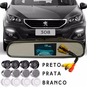Espelho Retrovisor Com Câmera De Ré Peugeot 308