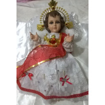 Vestido Para Niño Dios De 35cm, 40cm Sagrado Corazon De Jesu