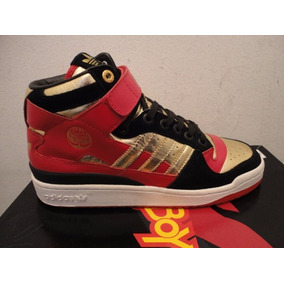 Zapatillas Botas adidas Forum Mid Hellboy Ii Retro Vintage