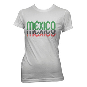 e942e8fca6816 Playera Dama Futbol Mexico Mundial Mexico 68 Clasico