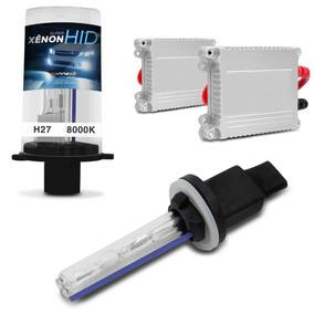 Kit Xenon H27 8000k Carro Lampada Luz Farol Milha Tuning