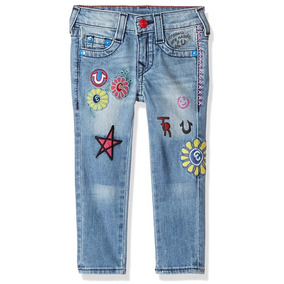 True Religion Casey Patched Jeans Niña