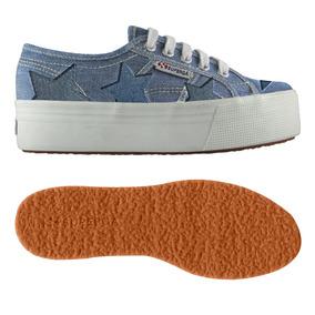 Zapatos Superga 2790 Denimpatchw S00epn0