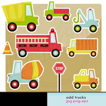 Kit Imprimible Carro Camion Auto 1 Imagenes Clipart