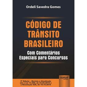 Codigo De Transito Brasileiro - Com Comentarios Especiais Pa