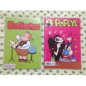 Hq Quadrinhos Bolinha E Popeye Usados Ed. Classic Media R$8