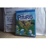 Bluray Flauta De Los Pitufos Película Caricatura