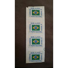 Brasil Selo 1o Porte Nacional Série A Lote