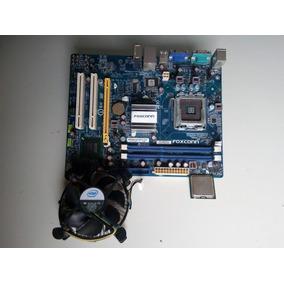 Tarjeta Madre Foxconn G41md + Procesador Y Fancooler Intel