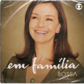 Cd Em Família - Bossa - Trilha Sonora Novela - Novo Lacrado*