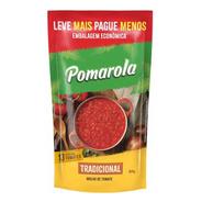 Molho De Tomate Tradicional Pomarola Sem Glúten Sachê - 520g