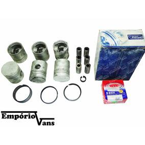Kit Motor Pistão + Anel Asia Am 825 6 Cil 4.0 Diesel 12v