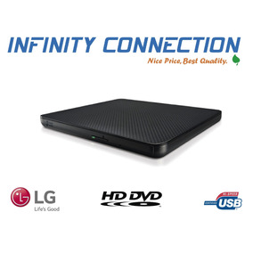 Lector Externo Cds Dvd Writer Lg Doble Capa Ultra Slim 2017