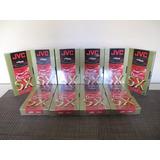 Fita Video Cassete Vhs Jvc Sx Gold T-120 Sx Nova 7peça