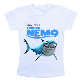 Camiseta Infantil Procurando Nemo Bn504