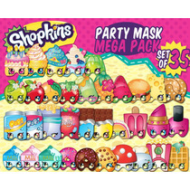 Mascara Antifaz Shopkins 35 Modelos Diferentes