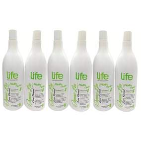 3 X Escovas Progressivas 0% Formol Life Hair Organic Liss