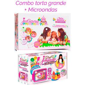 Torta Cumpleaños Juliana Grande + Microndas Cocina Combo
