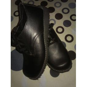 Zapatos Escolares Unisex Talla 34