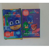 Cartas Naipes Pj Mask Heroes En Pijamas