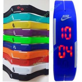 Kit 20 Relógio Pulseira Nike Digital Led Sport Atacado