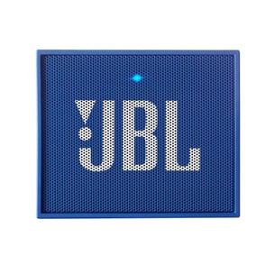 Caixa De Som Bluetooth Jbl Go Azul, Bateria Recarregável, V