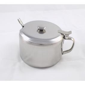 Açucareiro Inox Mini 450ml Clink Utilidade Casa Cozinha *