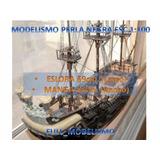 Planos Para Modelismo Del Perla Negra Esc 1:100 Jack Sparrow