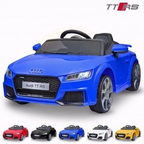Auto A Bateria Audi Tt Rs Nuevo 12v Cuero Usb Puerta Control
