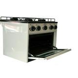 Anafe Mini Cocina 4 Hornallas Con Horno Gas Envasado