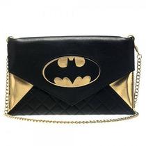 Bolsa Con Cadena Bioworld Batman Femenino