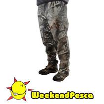 Pantalon Braman Bombacha De Campo Camuflada - Weekendpesca