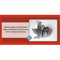 Ventilador Convector Horno Cocina Smeg Electrico Forzador