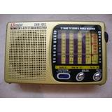 Rádio Portátil Cnn 1012 Livstar Am/ Fm/ Tv/ Sw