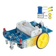 Kit Carro Robot Seguidor De Línea