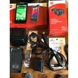 Motorola Razr Xt910 Con Base Cargador Y Dock Para El Auto