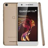 Smartphone Quantum You L 32gb Dourado Lacrado
