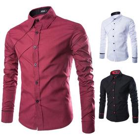 Camisa Social Slim Fit Premium A Pronta Entrega Frete Grátis