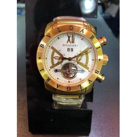 8384e661761 Bvlgari Sotirio Dourado Branco Masculino - Relógios De Pulso no ...
