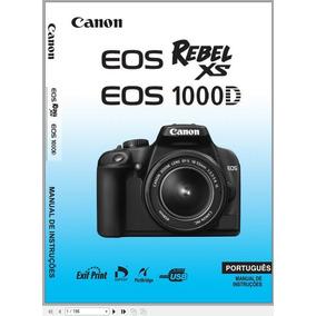 eos 600d em portugu s pdf manual canon rebel t3i c meras e rh cameras mercadolivre com br Manual Canon T3i 600D Canon 600D T3i Sale